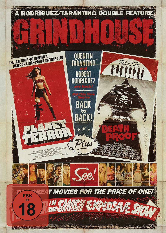 Grindhouse Doublefeature: Planet Terror / Death Proof