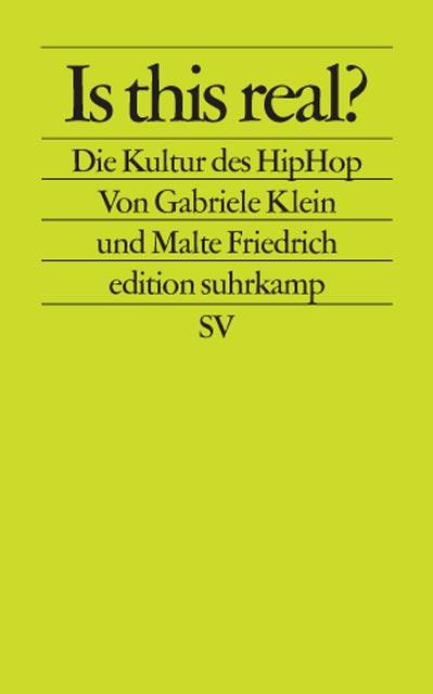 Is this real? Die Kultur des HipHop. - Malte Friedrich