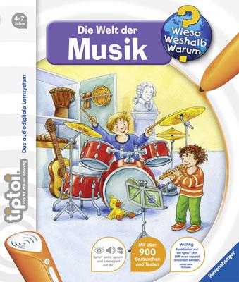 tiptoi® Wieso? Weshalb? Warum?: Die Welt der Musik - Inka Friese [Nr. 3]