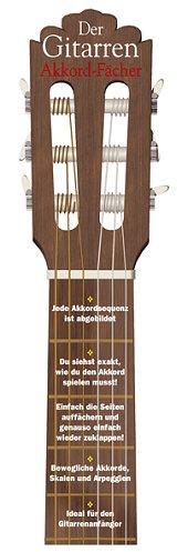 Die Gitarren-Akkordfächer
