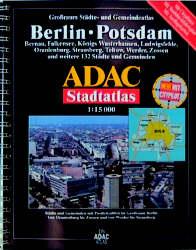 ADAC Stadtatlas Großraum Berlin / Potsdam 1 : 1...