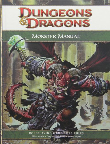 Monster Manual: A 4th Edition Core Rulebook (D&...