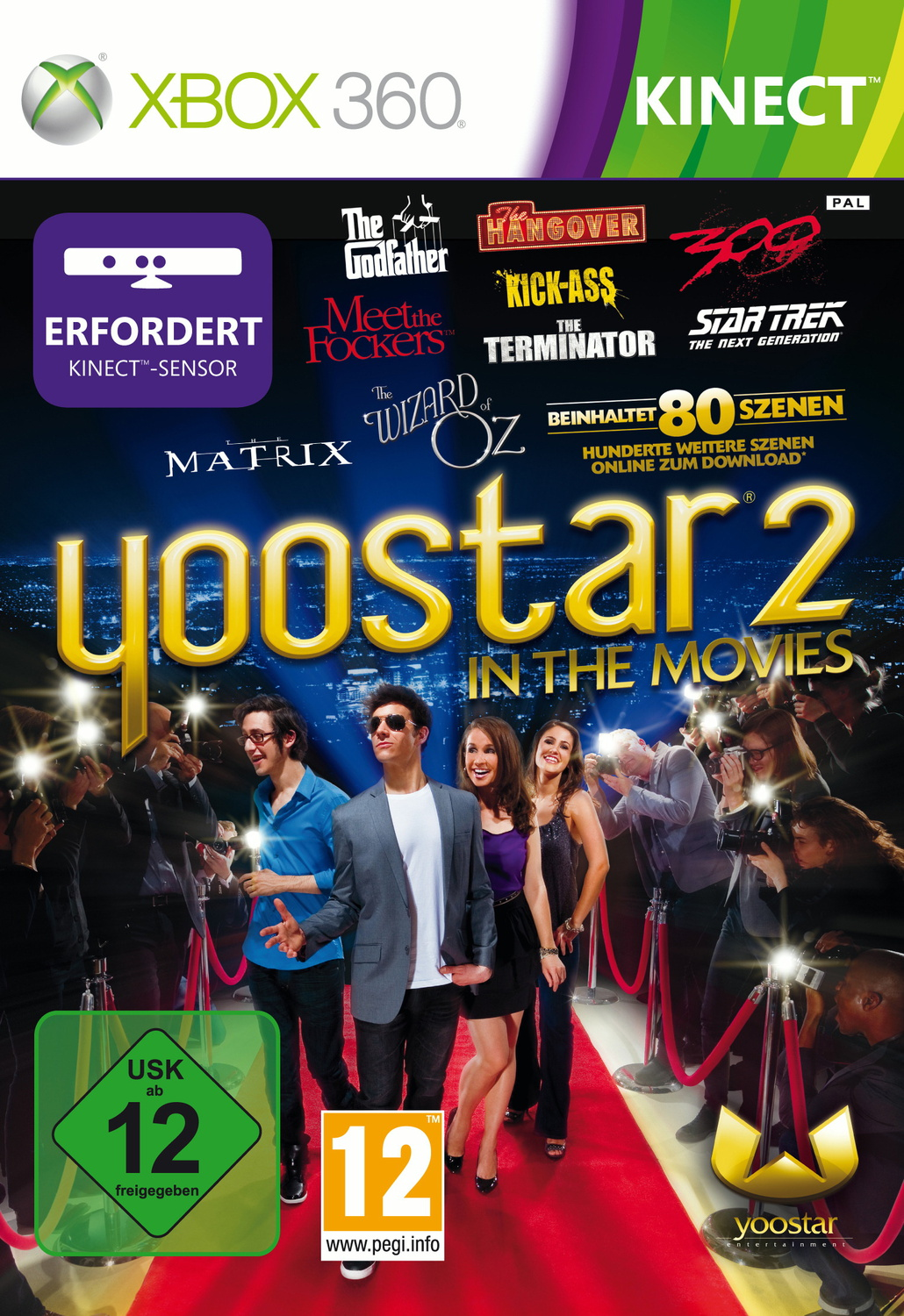 Yoostar 2 - In the Movies [Kinect]