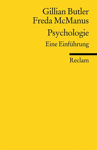 Psychologie: Eine Einführung - Gillian Butler