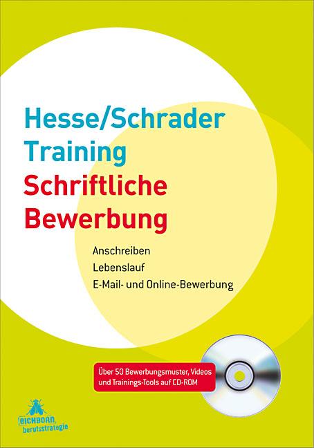 Hesse/Schrader-Training Schriftliche Bewerbung:...