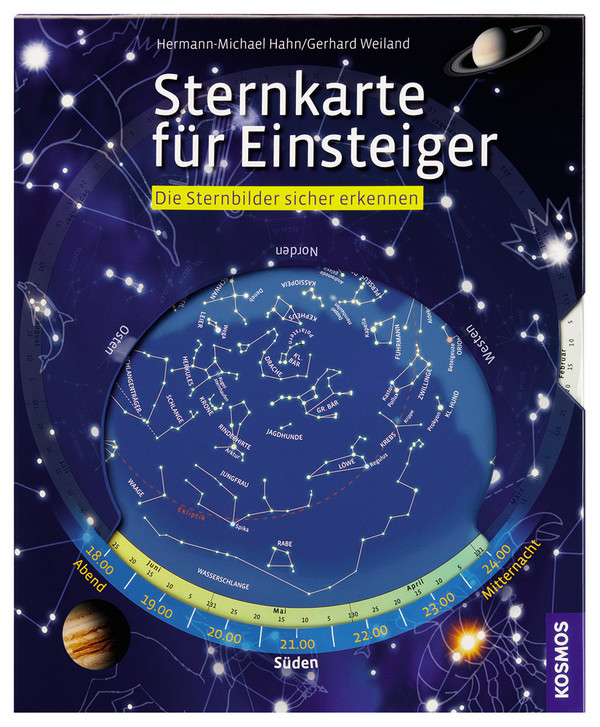 Sternkarte für Einsteiger: Einfach drehen, sicher erkennen - Hermann-Michael Hahn