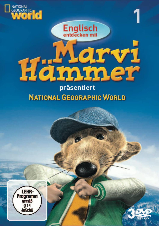 Englisch entdecken mit Marvi Hämmer: National Geographic - Vol. 1 [3 DVDs]