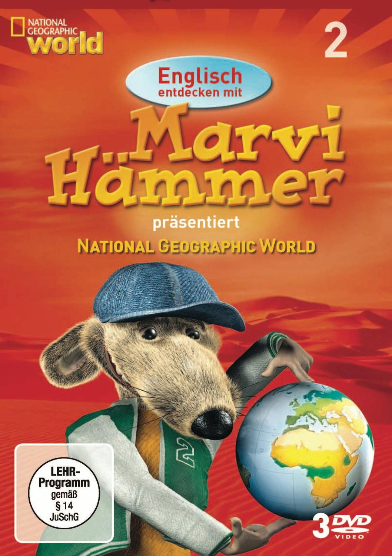 Englisch entdecken mit Marvi Hämmer: National Geographic - Vol. 2 [3 DVDs]