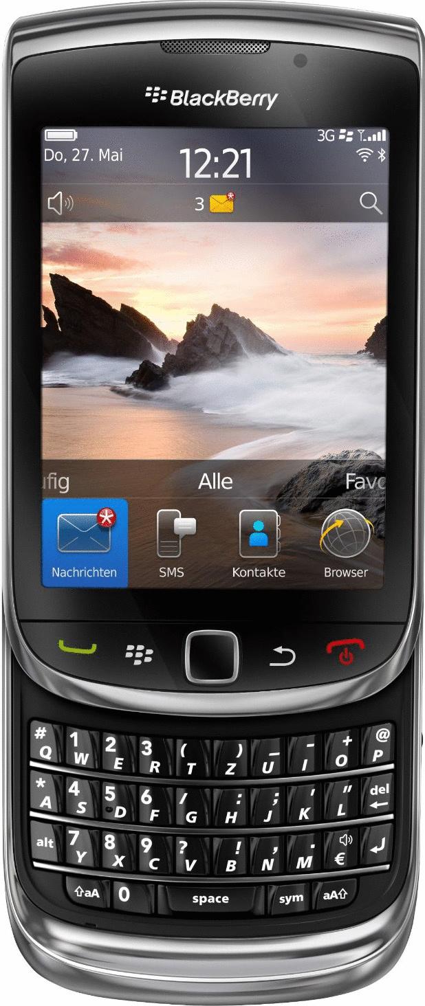 Blackberry 9800 Torch schwarz
