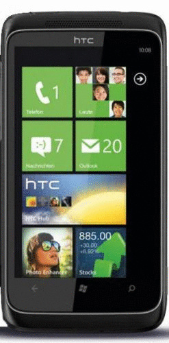 HTC 7 Trophy schwarz