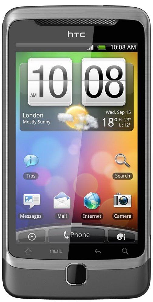 HTC Desire Z 4GB tungsten grey