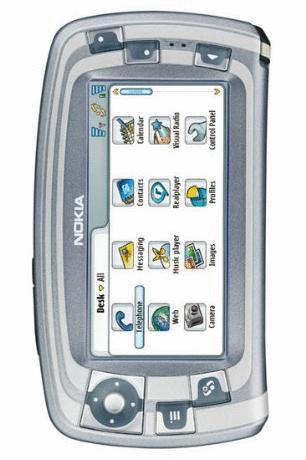 Nokia 7710 grey pearl