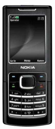 Nokia 6500 classic schwarz