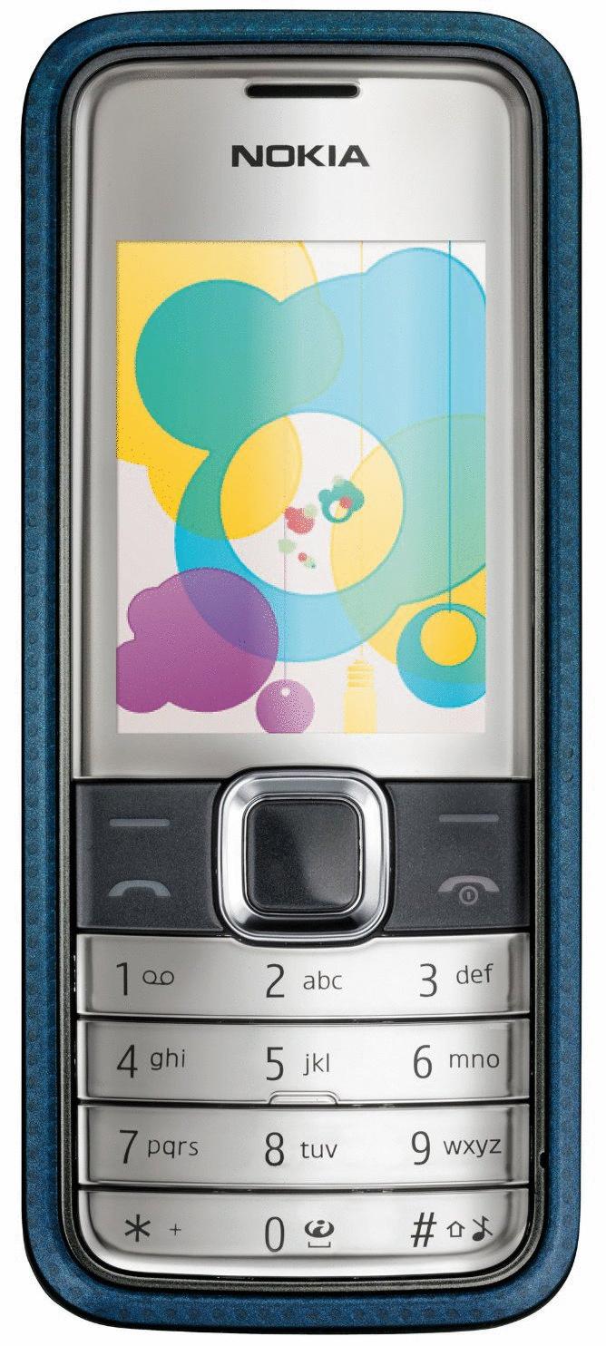 Nokia 7310 Supernova blue