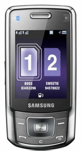 Samsung B5702 schwarz