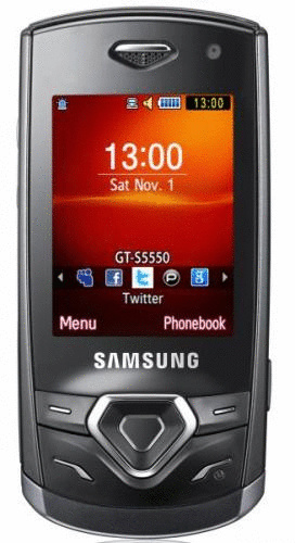 Samsung S5550 Shark 2 onyx black