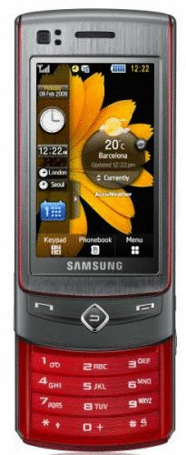 Samsung S8300 UltraTouch platinum red