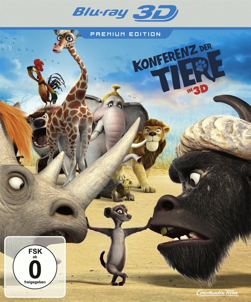 Konferenz der Tiere in 3D [Limited Premium Edit...