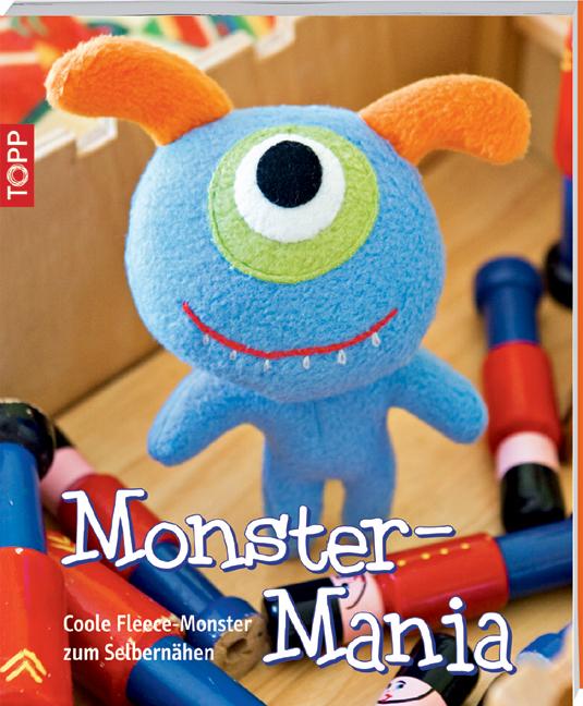 Monster-Mania: Coole Fleece-Monster zum Selbern...