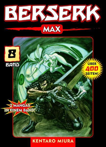 Berserk Max 08: BD 8 - Kentaro Miura