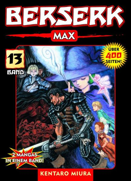 Berserk Max 13: BD 13 - Kentaro Miura
