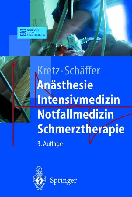 Anästhesie. Intensivmedizin. Notfallmedizin. Sc...