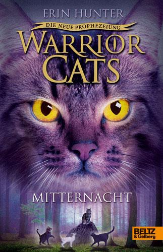 Warrior Cats - Die neue Prophezeiung - Band 1: Mitternacht - Erin Hunter [Deutsche Erstausgabe]