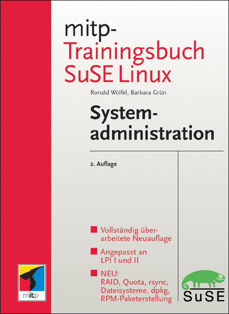 mitp Trainingsbuch SUSE Linux-Systemadministrat...