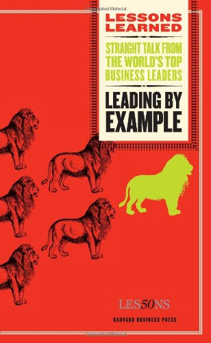 Leading by Example (Lessons Learned) - Will Whi...