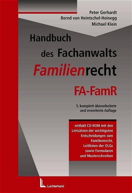 Handbuch des Fachanwalts - Familienrecht FA-Fam...