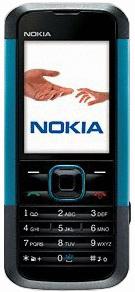 Nokia 5000 neon blue