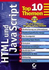 HTML und Javascript. TopTenThemen - Frank Braade