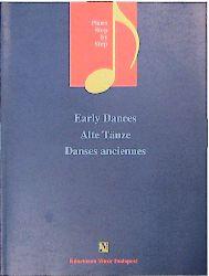 Early Dances: Alte Tanze (Music Scores) - Konem...