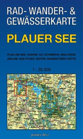 Plauer See 1 : 35 000 Rad-, Wander- und Gewässe...