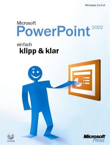 Microsoft PowerPoint 2002, m. CD-ROM - Michaela Zocholl