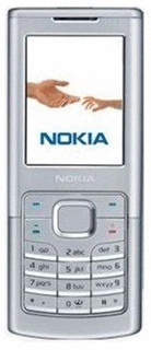 Nokia 6500 classic silber