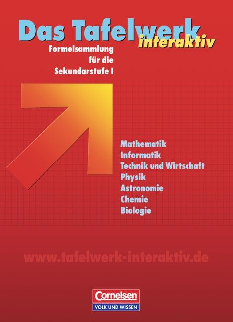 Das Tafelwerk interaktiv. Formelsammlung für di...