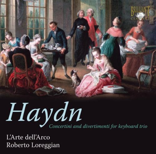 L´Arte Dell´Arco - Haydn: Concertini & Divertimenti for Keyboard Trio