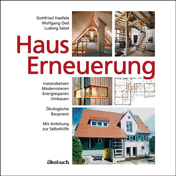 Hauserneuerung: Instandsetzen, Modernisieren, E...