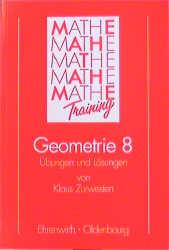 Ehrenwirth Nachhilfen (Lernhilfen), Geometrie 8. Klasse - Klaus Zurwesten