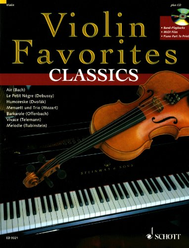 Violin Favorites Classics. Violine, Klavier