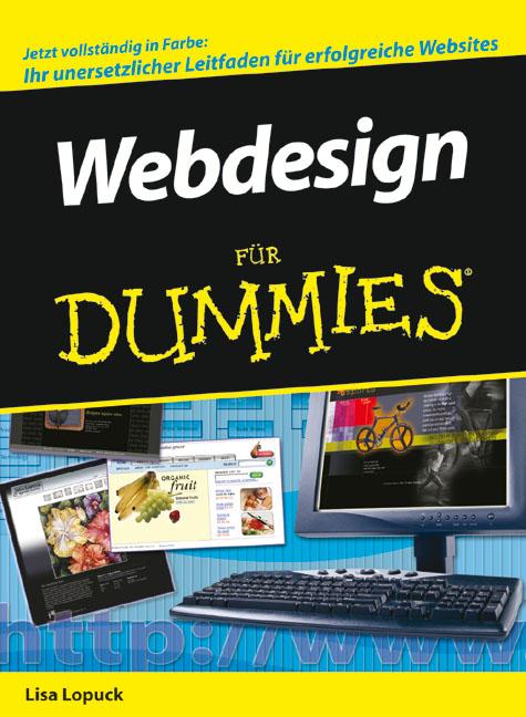 Webdesign für Dummies - Lisa Lopuck