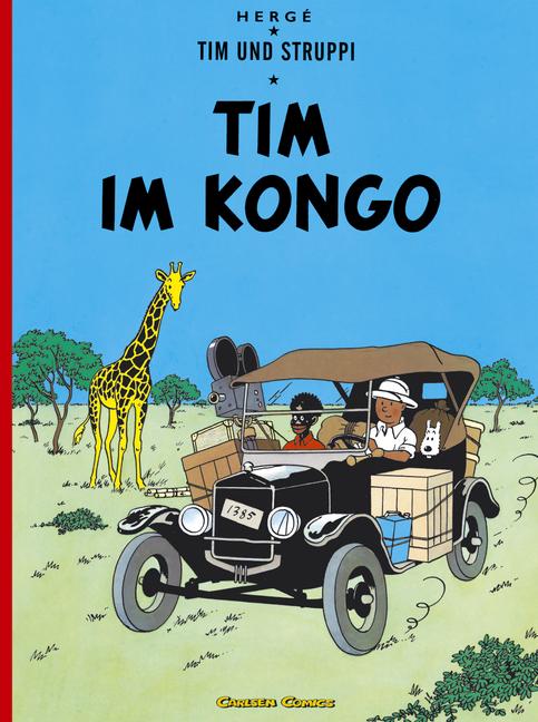 Tim und Struppi: Band 1: Tim im Kongo - Hergé