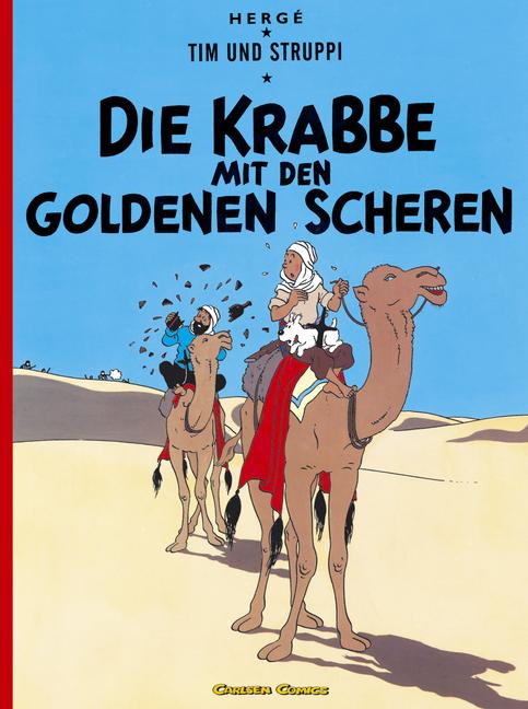 Tim und Struppi, Carlsen Comics, Neuausgabe, Bd.8, Die Krabbe mit den goldenen Scheren - Hergé