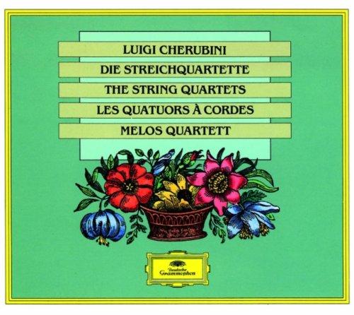 Melos-Quartett Stuttgart - Streichquartette 1-6 (Ga)