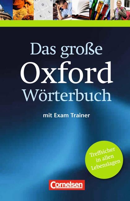 Das große Oxford Wörterbuch, Englisch-Deutsch, Deutsch-Englisch