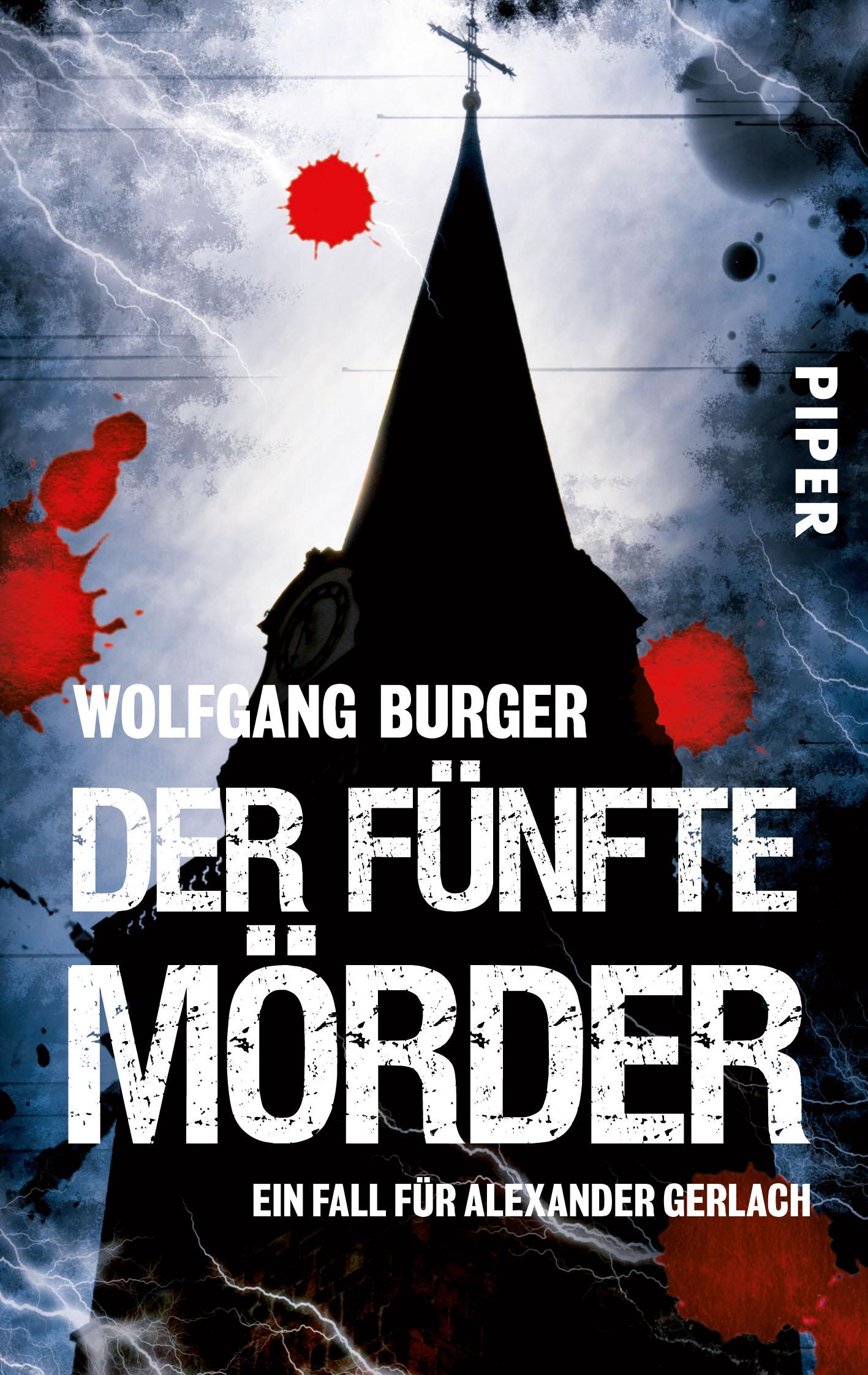Der fünfte Mörder. Ein Fall für Alexander Gerlach - Wolfgang Burger