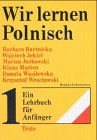 Wir lernen Polnisch, 2 Bde. - Barbara Bartnicka