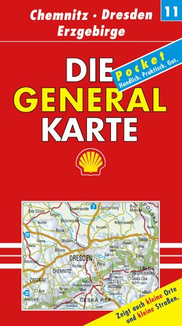 Die Generalkarten Deutschland Pocket, 20 Bl., B...