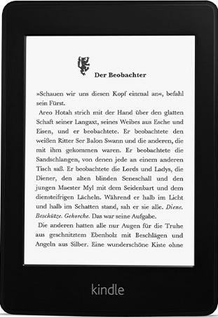 Amazon Kindle Paperwhite 6 2GB [Wi-Fi + 3G, 1. Generation] schwarz